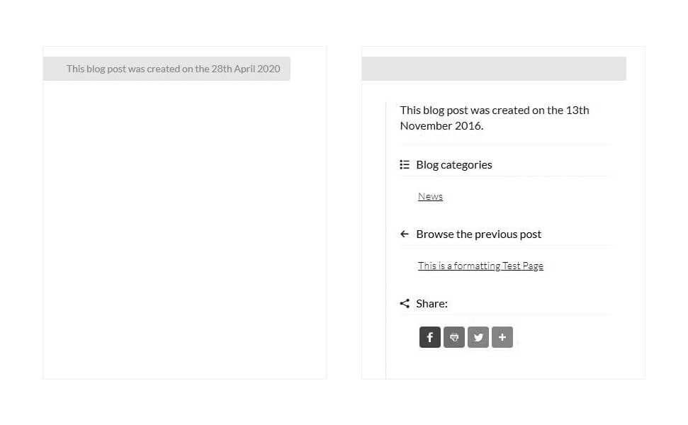Iterative changes made to the blog posts
