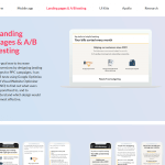 Sulaymaan's website landing pages section